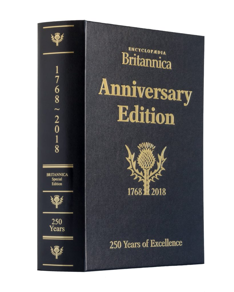 250th Anniversary Book of the Year